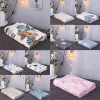 40*60cm Print Pillowcase Super Soft Cotton Bedroom Supplies Latex Cushion Cover Cozy Durable Memory Foam Fashion Pillow Slip
