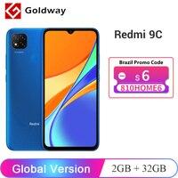 Global Version Xiaomi Redmi 9C 9 C 2GB 32GB / 3GB 64GB Smartphone Helio G35 Octa Core 6.53