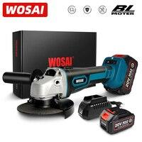 WOSAI-MT 시리즈 M14 브러시리스 앵글 그라인더, 20V 리튬 이온 배터리 기계, 절단 무선 전기 앵글 그라인더 전동 공구