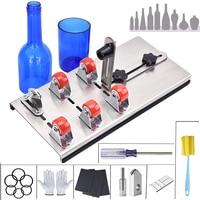 DIY 유리 병 커터 조정 가능한 크기 금속 Glassbottle 커팅 머신 공예 와인 병 가정용 절단 도구