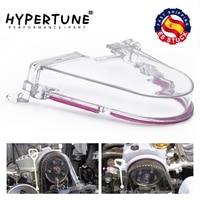 Hypertuning-capa de polia dentada da câmera, cobertura transparente da engrenagem para honda 96-00 ek com adesivo pqy ht6337