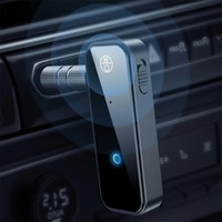 Drahtlose Bluetooth-kompatibel 5,0 Musik Empfänger Audio 3,5mm Auto Sender Empfänger Kopfhörer AUX Adapter Handfree Auto PC