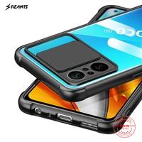 Rzants Für Xiaomi POCO F3 Xiaomi Redmi K40 Pro Xiaomi MI 11i Fall [Objektiv Schutz] Kamera Schlank Klar abdeckung Weiche Telefon Gehäuse