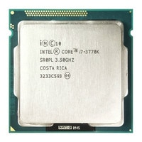 Verwendet Intel Core i7-3770K i7 3770K 3,5 GHz Quad-Core CPU Prozessor 8M 77W LGA 1155 90% neue
