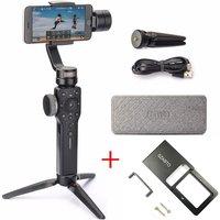Zhiyun Smooth 4 3 Axis Gimbal Steadicam Stabilizer for iPhone X 8 Gopro Hero 5 SJCAM SJ7 Xiaomi Yi 4k action camera