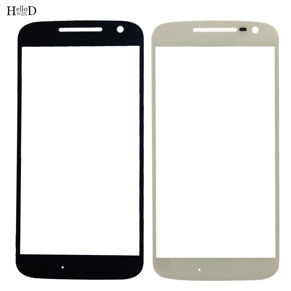 Pantalla táctil LCD para móvil, cristal exterior, Color negro, sin Cable flexible, para Motorola Moto G4, G4 Play, G4 Plus, G5, G6 Play