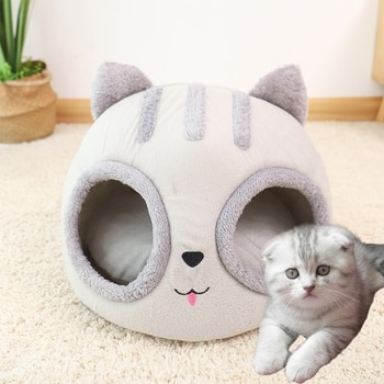 Cat Head Shaped Bed