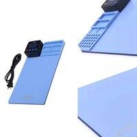 CPB 휴대 전화 LCD 화면 분리기 화면 수리 키트 효율적인 리무버 iPhone-US 플러그 용 CPB 사전 가열 패드