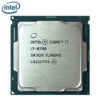 Intel Core i7-8700 i7 8700 3,2 GHz Sechs-Core Zwölf-Gewinde CPU Prozessor 12M 65W LGA 1151 getestet 100% arbeits