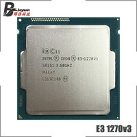 Intel Xeon E3-1270 v3 E3 1270 v3 E3 1270v3 3,5 GHz Quad-Core Acht-Gewinde CPU Prozessor L2 = 1M L3 = 8M 80W LGA 1150