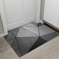 New Geometric Printed Doormat Living Rooms Anti-slip Carpet Absorbent Shower Bath Mat Bedroom Kitchen Rug Hallway Welcome Mats