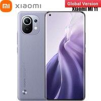 Globale Version Xiaomi Mi 11 8GB + 256GB 5G Smartphone Snapdragon 888 Octa Core 100 Millionen Pixel 120Hz Aktualisieren Bildschirm NFC