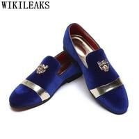 Italian Luxury Brand Mens Dress Shoes Loafers Business Formal Shoes Men Wedding Dress 2021 Zapatos De Hombre De Vestir Formal