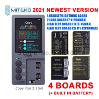 Qianli-iCopy Plus 2.1 배터리 테스트 보드 포함, 78 P X XR XS XSMAX 11 ProMax, LCD 진동기 전송 EEPROM 프로그래머