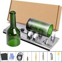 유리병 커터, 업그레이드된 병 절단 도구 키트, 와인, 맥주, 주류, 위스키, 알코올, 샴페인 절단용 DIY 기계