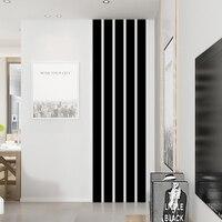 20 개/대 간단한 라인 아크릴 3D 벽 스티커 DIY 배경 미러 스트립 천장 허리 라인 거실 다이닝 룸 홈 장식