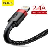 Baseus USB Kabel für iPhone SE 11 Pro Max Xs X Kabel 2,4 EINE Schnelle Ladekabel für iPhone 7 8 Plus Ladegerät Kabel USB Daten Kabel