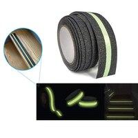 Green Luminous Tape Self Adhesive Glow In The Dark Stickers 3m 5m Stage Decorative Luminous Fluorescent Tape Warning Stickers