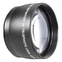 55mm 2X Teleobjektiv Telekonverter für Canon Nikon Sony Pentax 18-55mm