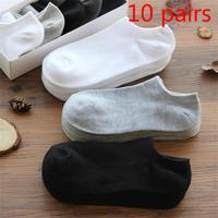 10 paare/los Männer Socken Baumwolle Große size38-44High Qualität Casual Atmungs Boot Socken Kurze Männer Socken Sommer Männlichen