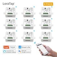 DIY 와이파이 스마트 라이트 스위치, 범용 차단기, 타이머, 스마트 라이프 앱, 무선, 리모컨, 알렉사, 구글 홈, 음성으로 작동