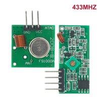 Beste preise 10 paar (20 stücke) 433Mhz RF sender und empfänger link kit