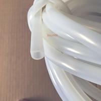 10 x 12mm D type high temperature resistant semicircular hollow silicone door seal mechanical bathroom water retaining strip