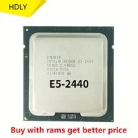 Verwendet Intel Xeon E5 2440 SR0LK cpu 2,4 GHz 6-Core 15M LGA 1356 prozessor CPU