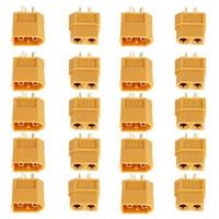 Neue 20PCS 10 Pairs XT60 Männlich-weibliche Kugel Anschlüsse Stecker Für RC Lipo Batterie