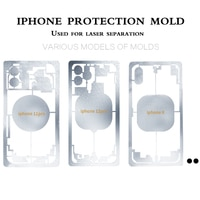 IPhone 보호 금형, 후면 유리 분리 보호 도구, tbk 958A 958b 958C 958M 레이저 분리시 손상 프레임 피하기
