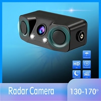 3 in 1 Video Parkplatz Radar Detektor Sensor Auto Reverse Backup Rückansicht Kamera mit Wireless Rückansicht Sender & empfänger