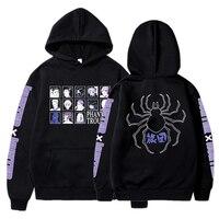 Anime Hoodie Hunter x Hunter Grafik Drucken Pullover Sweatshirt Casual Harajuku Hip Hop Streetwear Hoody Unisex