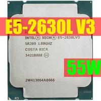 E5-2630LV3 Original Intel Xeon OEM Version E5 2630LV3 CPU 8-cores 1,80 GHZ 20MB 22nm LGA2011-3 E5 2630L v3 prozessor LGA2011-3