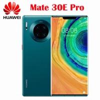 Original Neue Offizielle HUAWEI Mate 30E Pro 5G SmartPhone Kirin 990E Octa Core 6,53 zoll Curved Screen 4500Mah 40W Aufzurüsten