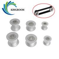 KINGROON 5pcs GT2 בטלן עיתוי גלגלת 2GT גלגלות 16 20 שן גלגל נשא 3mm 5mm אלומיניום הילוך רוחב 6 מ