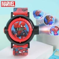 Wielka wyprzedaż pająk mężczyźni MARVEL Avengers superbohater dzieci cyfrowy zegarek chłopiec zabawka przyjaciel miłość Buddy nastolatek zegar inteligentne dziecko czas Junior