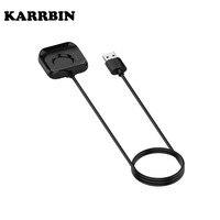 KARRBIN USB 스마트 워치 충전기 Oppo 46mm/41mm 시계 충전 케이블 크래들 독 휴대용 마그네틱 Smartwatch 액세서리