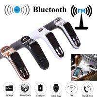 2021 neue Heiße 12V-24V G7 Auto FM Transmitter Bluetooth Hände-freies LCD MP3 Player Radio adapter Kit Ladegerät Schnelle Lade # PY10