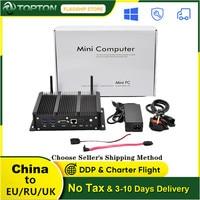Topton 6 LAN Mini PC 10th Gen Intel i7 i5 i3 Prozessor, AES-NI, RS232, fanless Industrie PC pfSense Firewall Router Gateway