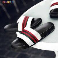 Shoes for Men Slides Lightweight Soft Comfortable Summer Slippers Brand Fashion Home Indoor House Slippers Men Slides Designer