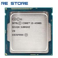 Verwendet Intel Core i5 4590S 3,0 GHz Quad-Core CPU Prozessor 6M 65W LGA 1150