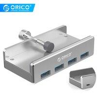 ORICO MH4PU USB HUB 3,0 3 0 HUB USB ladron Mehrere C adapter sd kartenleser splitter usb multi mehrere ports Aluminium 4 Ports