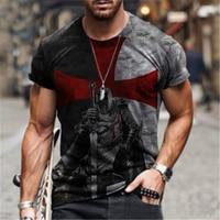 Summer new pattern 3d printing T-shirt fashion men's street casual sports shirt male O-neck oversized T-shirt