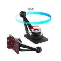 רכב 360 מעלות להפוך רסק טלפון נייד סוגר בסיס סוגר רכב לוח מחוונים שולחן משטח דבק סוגר גמיש מחזיק