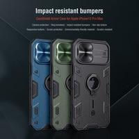 For IPhone 12/12 Pro Max Cover 용 Nillkin CamShield Armor 슬라이드 카메라 보호 커버 For iPhone 12 Pro 케이스 용