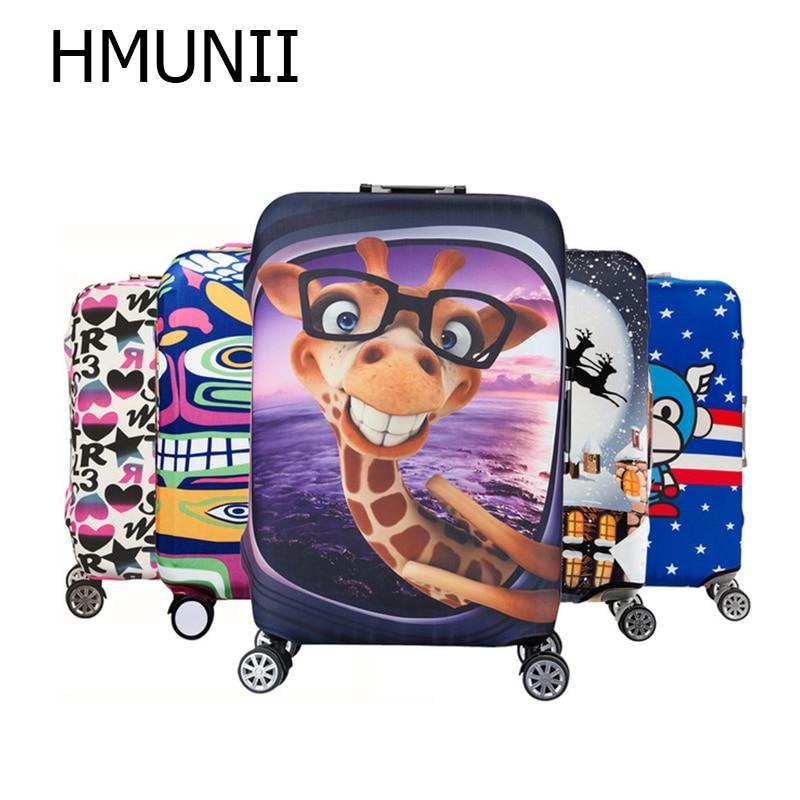 HMUNII Elastische Gepäck Schutzhülle Für 19-32 zoll Trolley Koffer Schützen Staub Tasche Fall Kind Cartoon Reise Zubehör