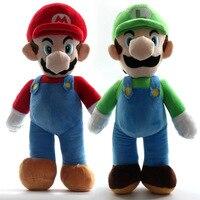 25cm Super Mario Plush Dolls Mario Bros Dinosaur Game Anime Characters Plush Toy Decoration Game Peripheral Doll Birthday Gifts
