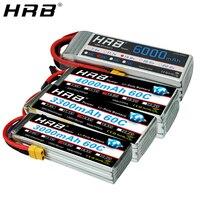 HRB Lipo Bateria 4S 14.8V 5000mah 6000mah 2200mah 1500 1800 2600 3000 3300mah 4000mah 10000mah 12000mah 22000mah XT60 RC Peças