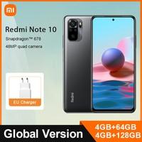 Global Version Xiaomi Redmi Note 10 4GB 64GB / 128GB Mobile Phone Snapdragon 678 6.43