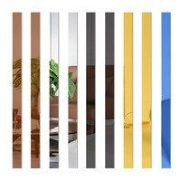 간단한 라인 아크릴 3D 벽 스티커, 배경 벽 장식, 천장 허리 라인, 거실, 식당, 아트, 벽 장식, 10 개